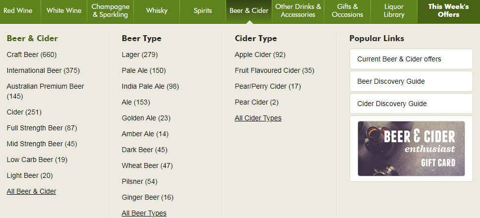 Dan Murphy's Beer and Cider