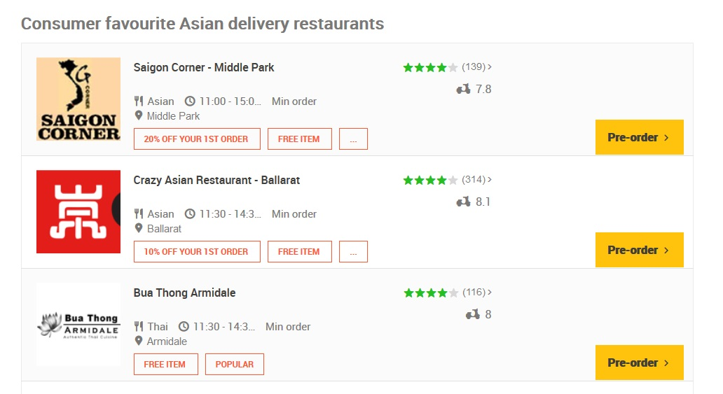 Menulog Asian