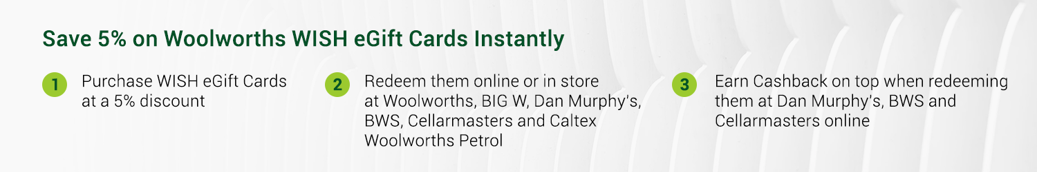 Woolworths Gift Cards