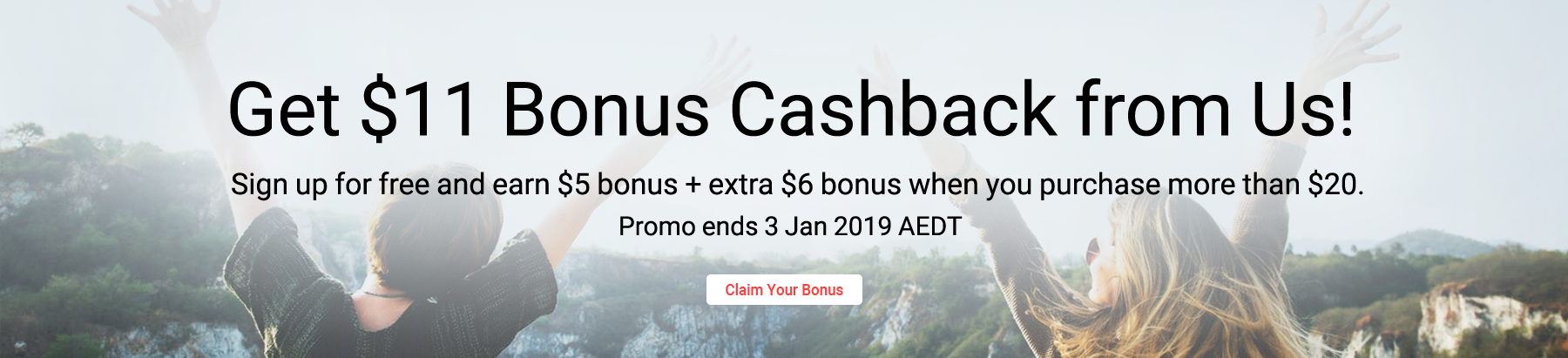 Here's $11 Bonus from your friend!