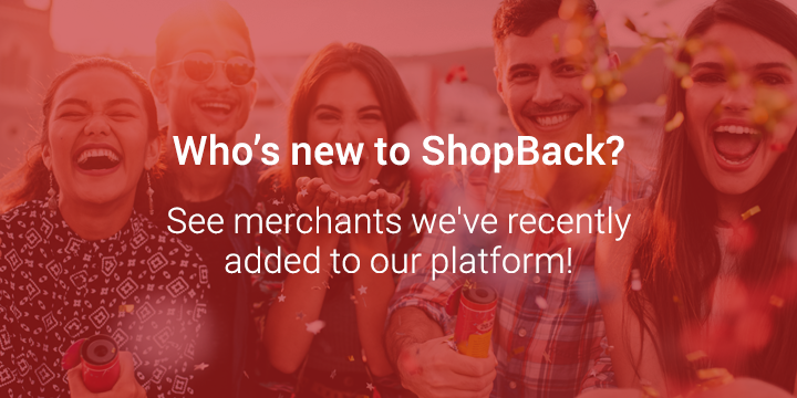 Who's New to ShopBack