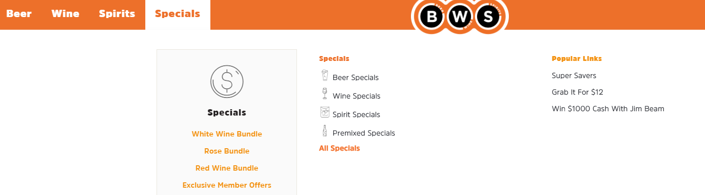 BWS Specials
