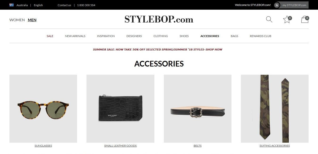 Stylebop Men Accessories