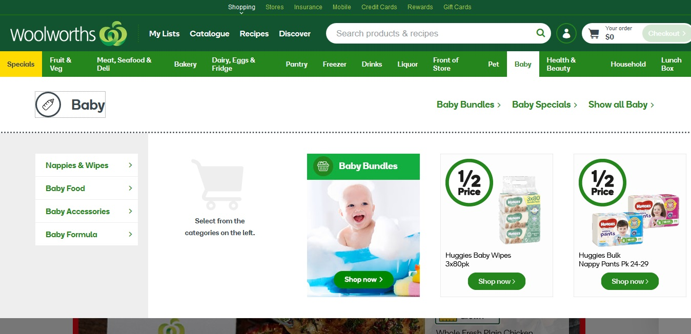 Woolworths Baby