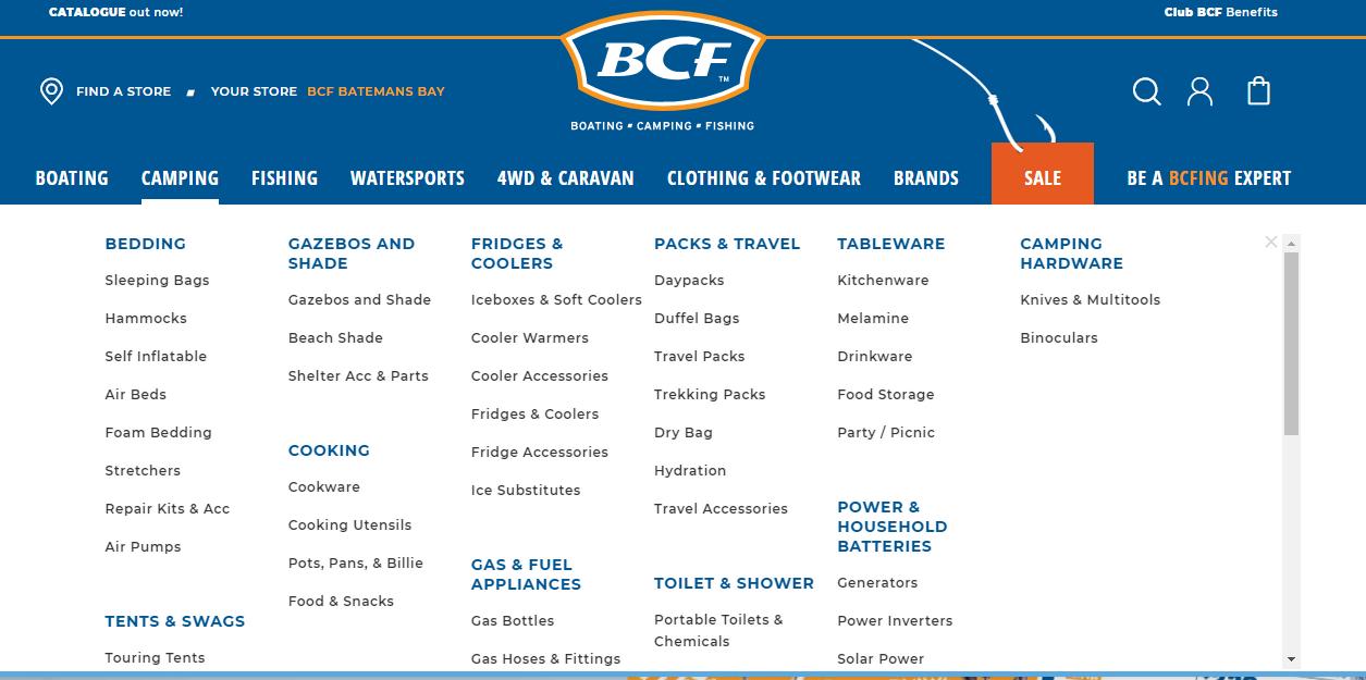 BCF Camping