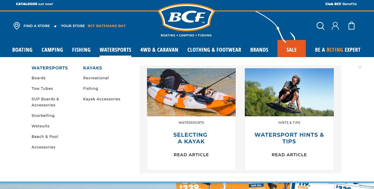 BCF Kayak