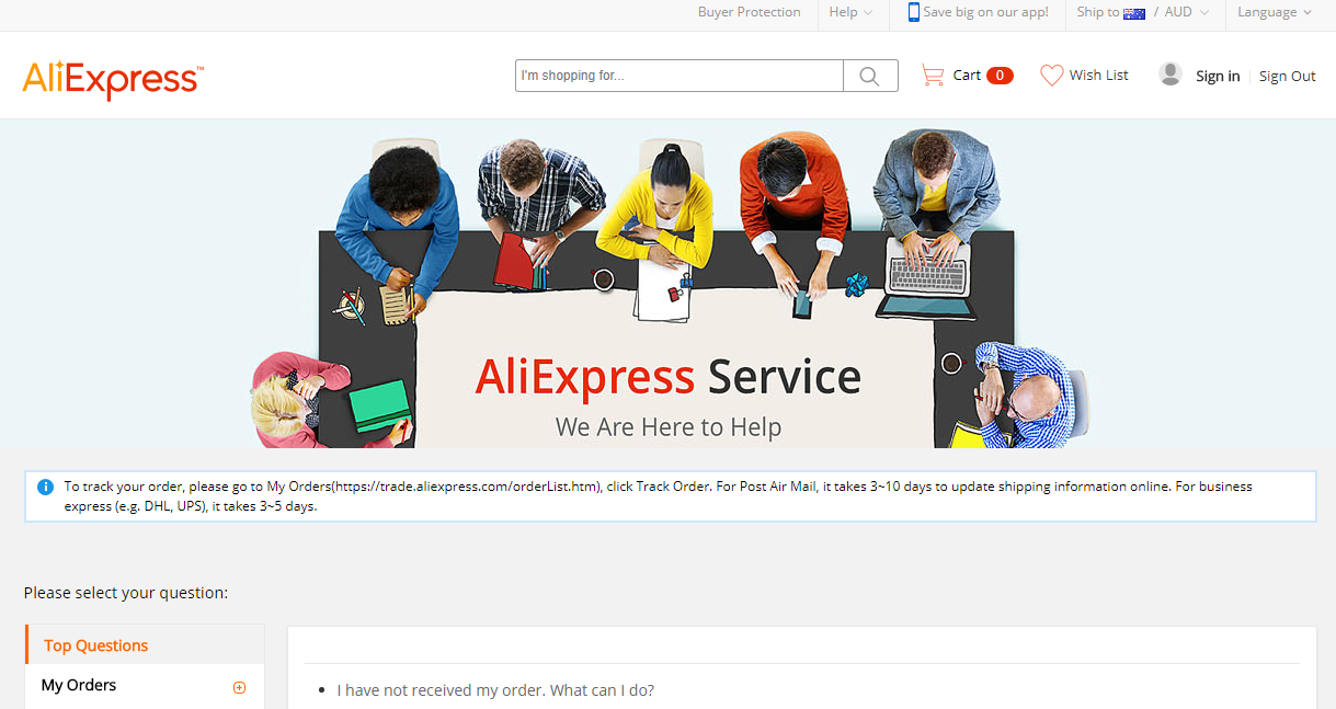 Aliexpress Shipping