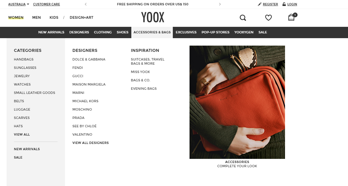 Yoox Accessories