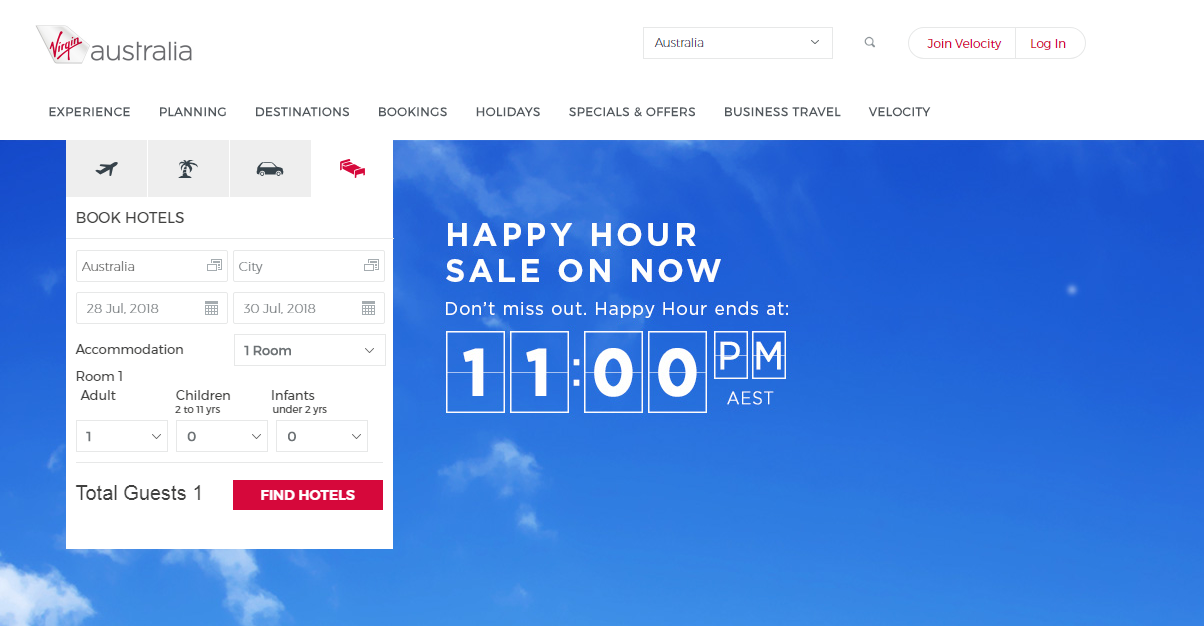 Virgin Australia Hotels