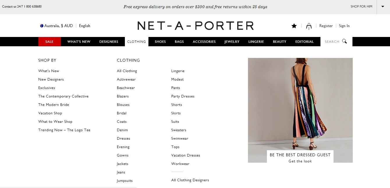 Net-A-Porter Clothing