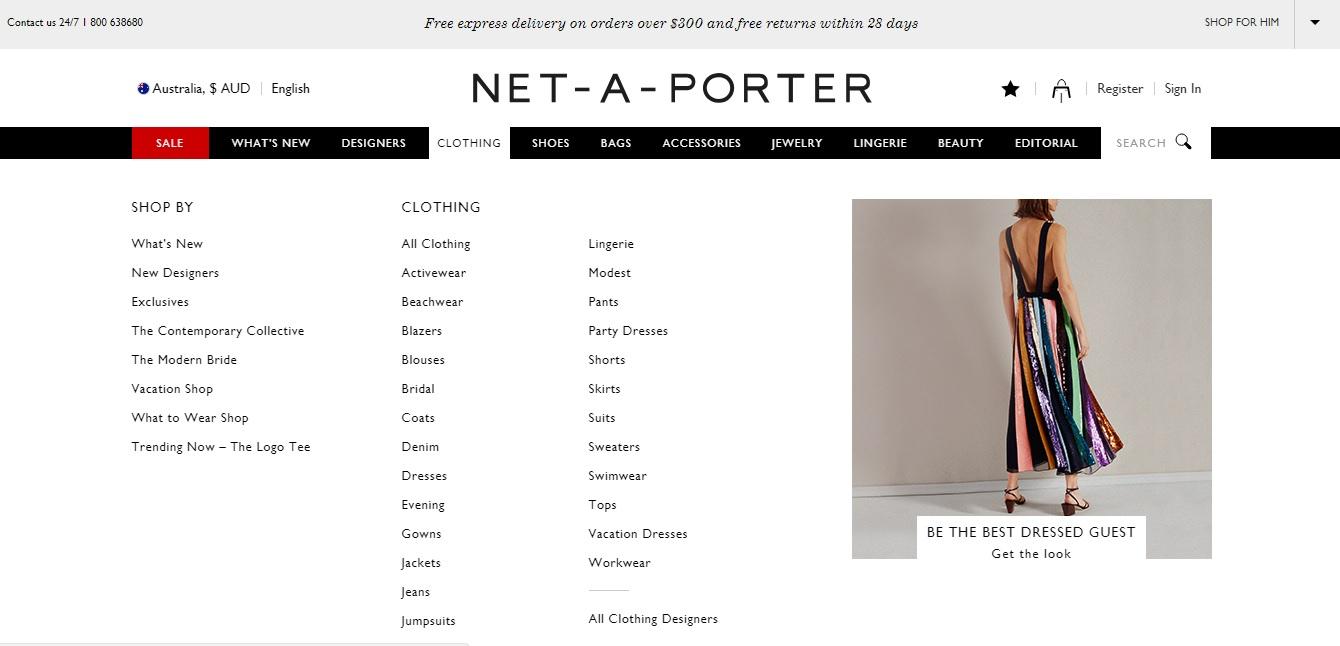 Net-A-Porter Clothing