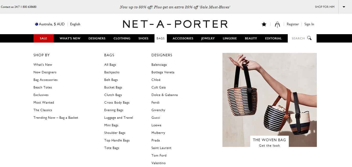 Net-A-Porter Bags