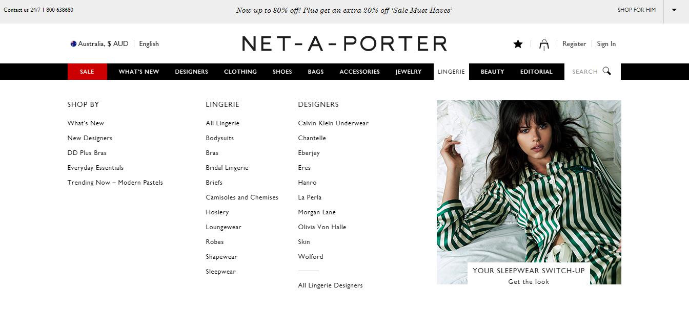 Net-A-Porter Lingerie