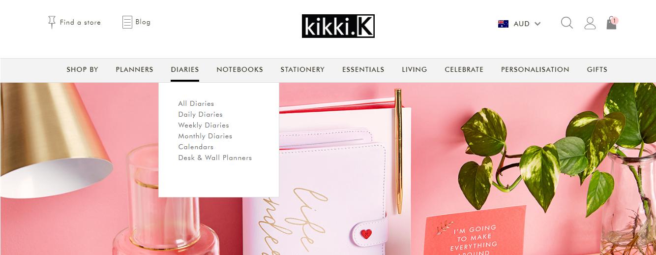 Kikki K Diaries