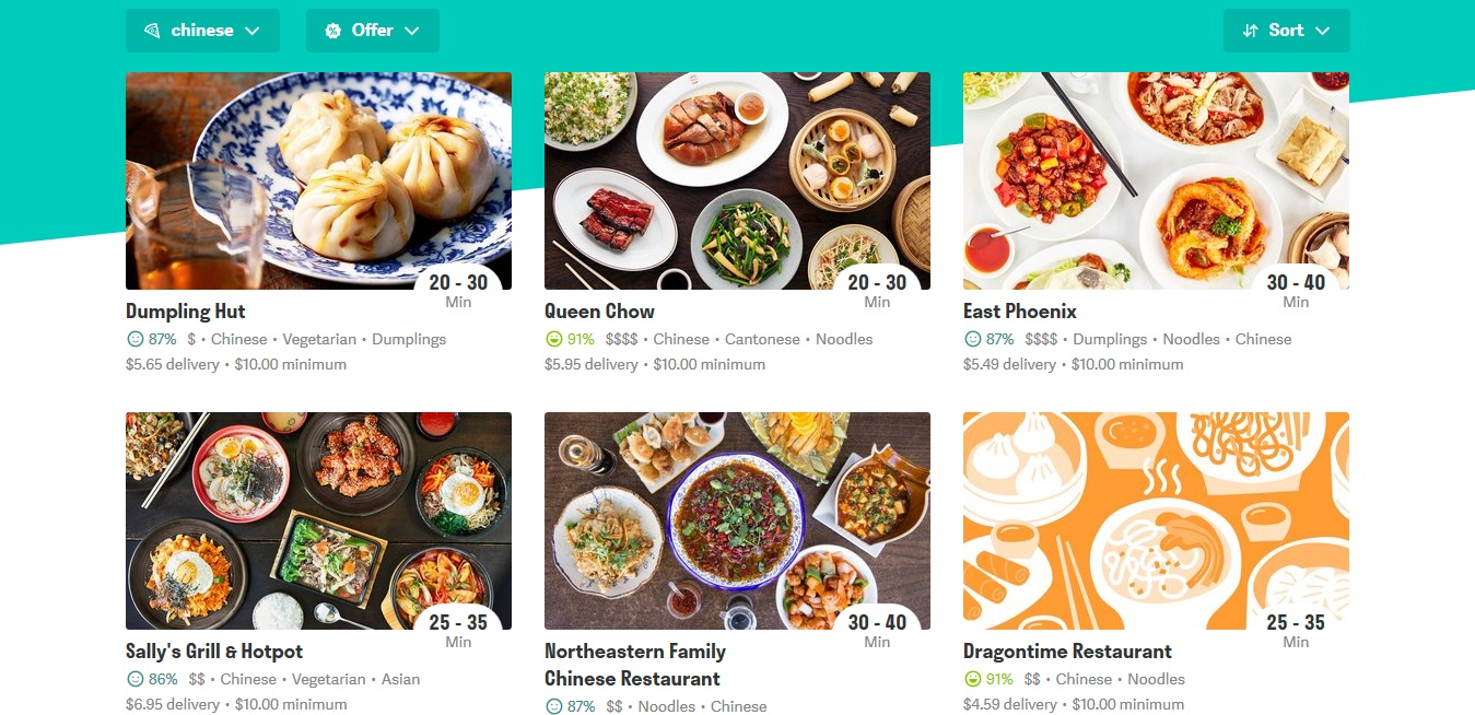 Deliveroo Chinese