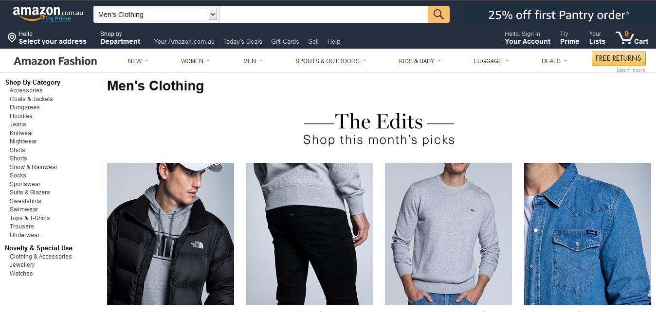 Amazon Men