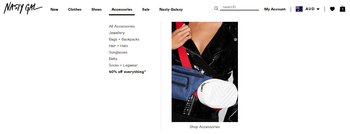 Nasty Girl Accessories