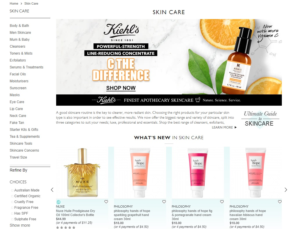 Adore Beauty Skin Care