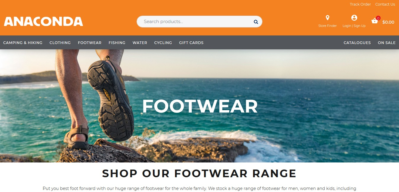 Anaconda Footwear