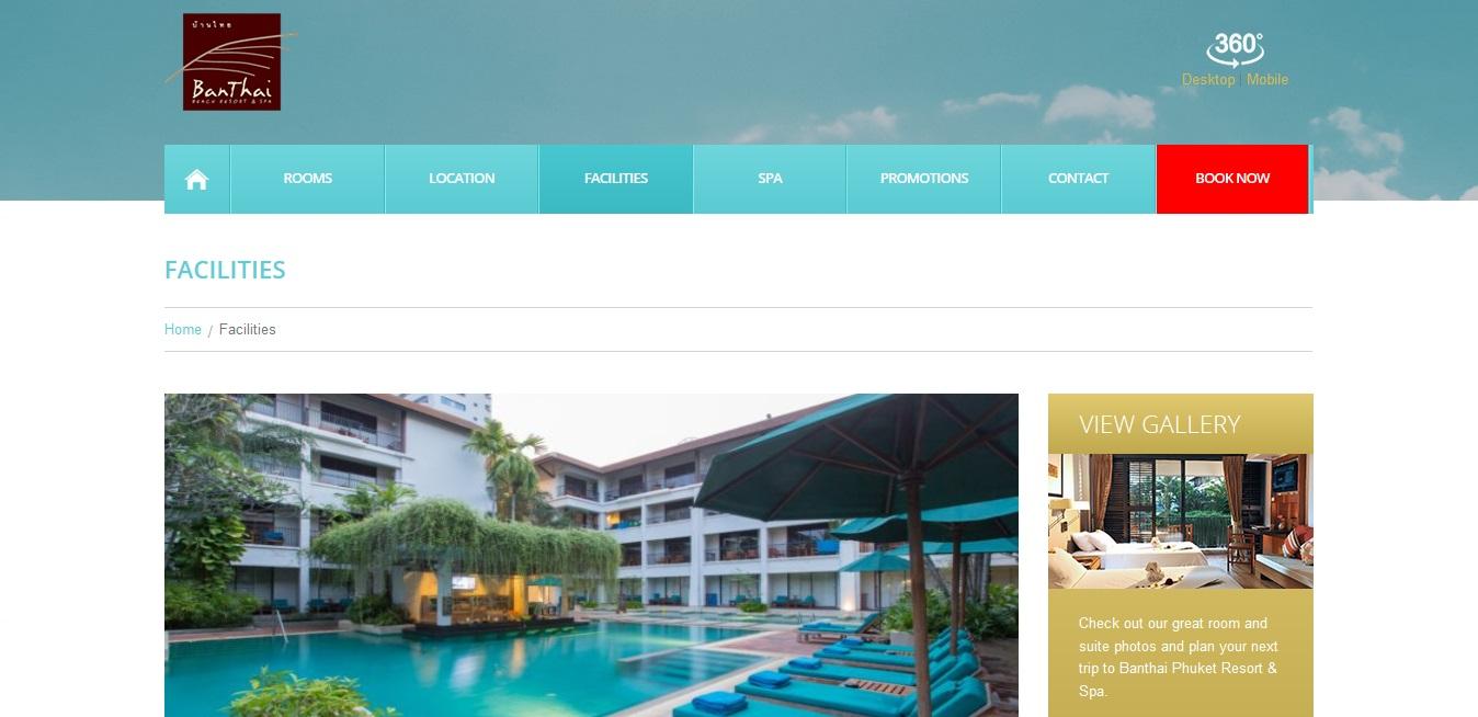 Banthai Resort Facilities