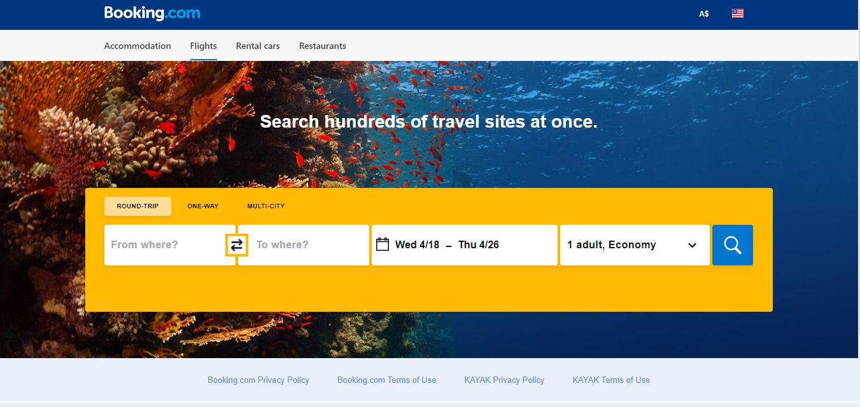 Booking com Flights