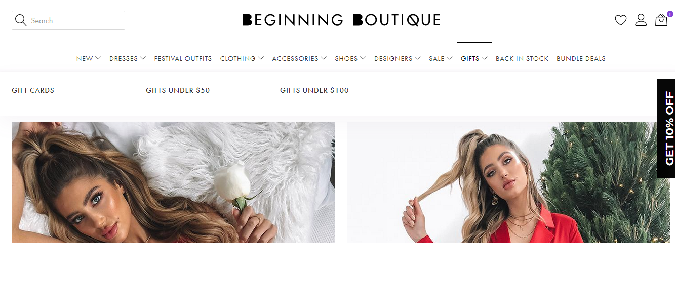 Beginning Boutique Gifts