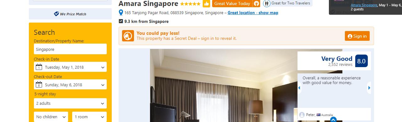 Booking com Australia discounts