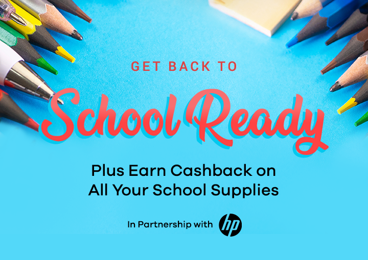 Back to School Sale in Partnership with HP