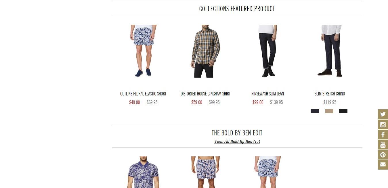 Ben Sherman Collection