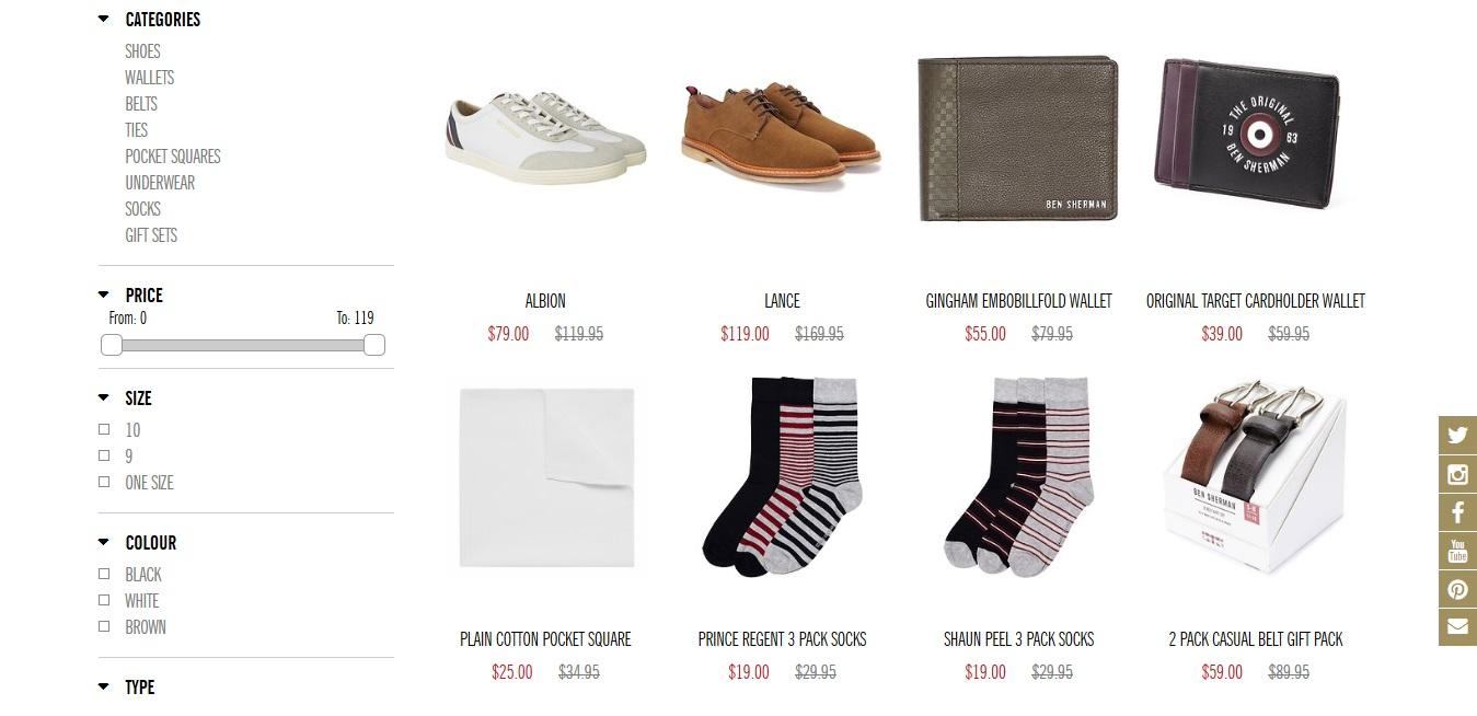 Ben Sherman Socks