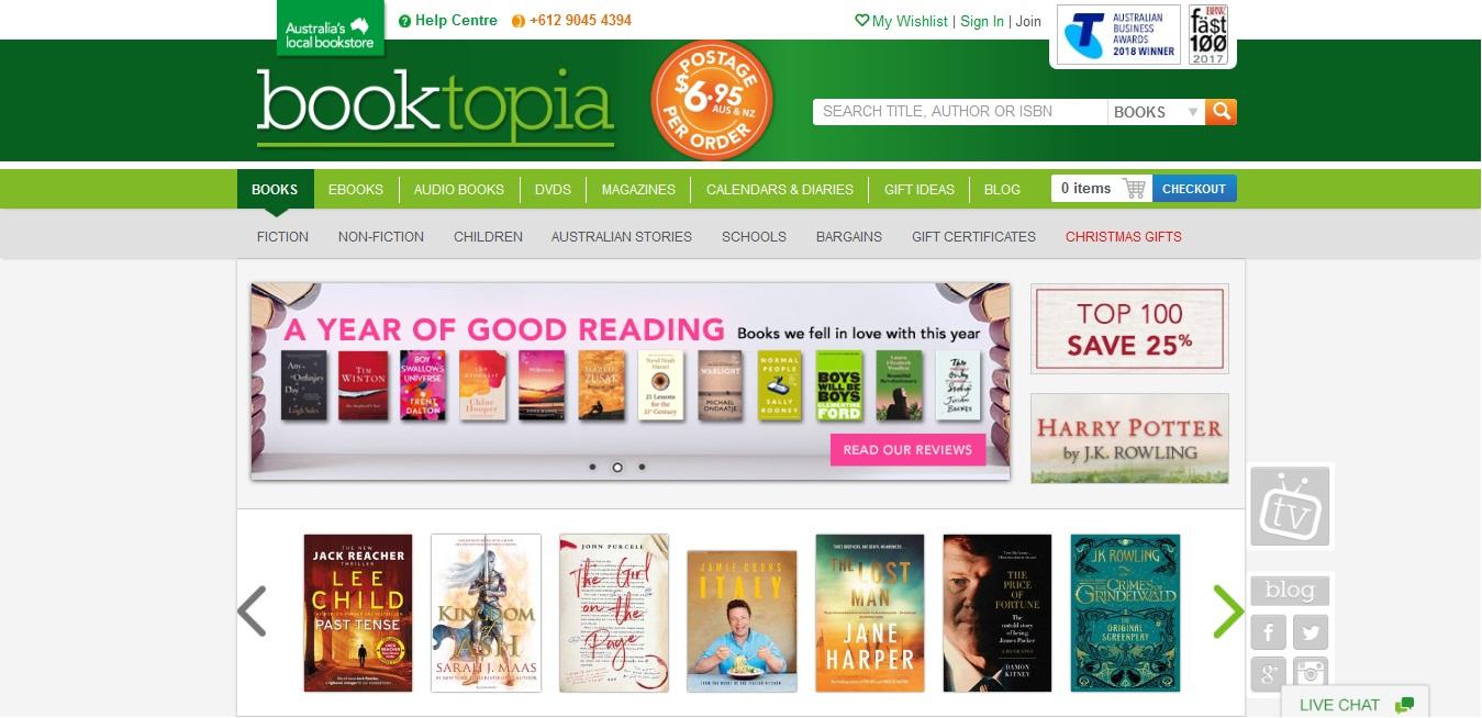 Booktopia Books