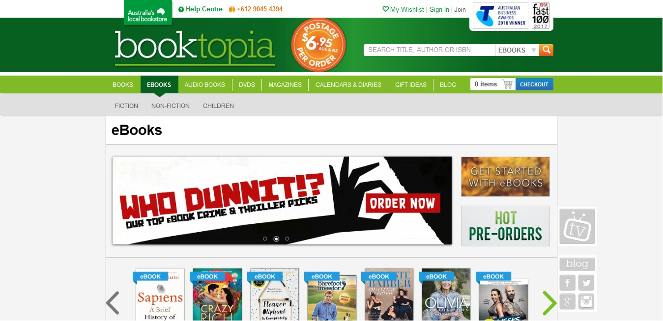 Booktopia eBooks