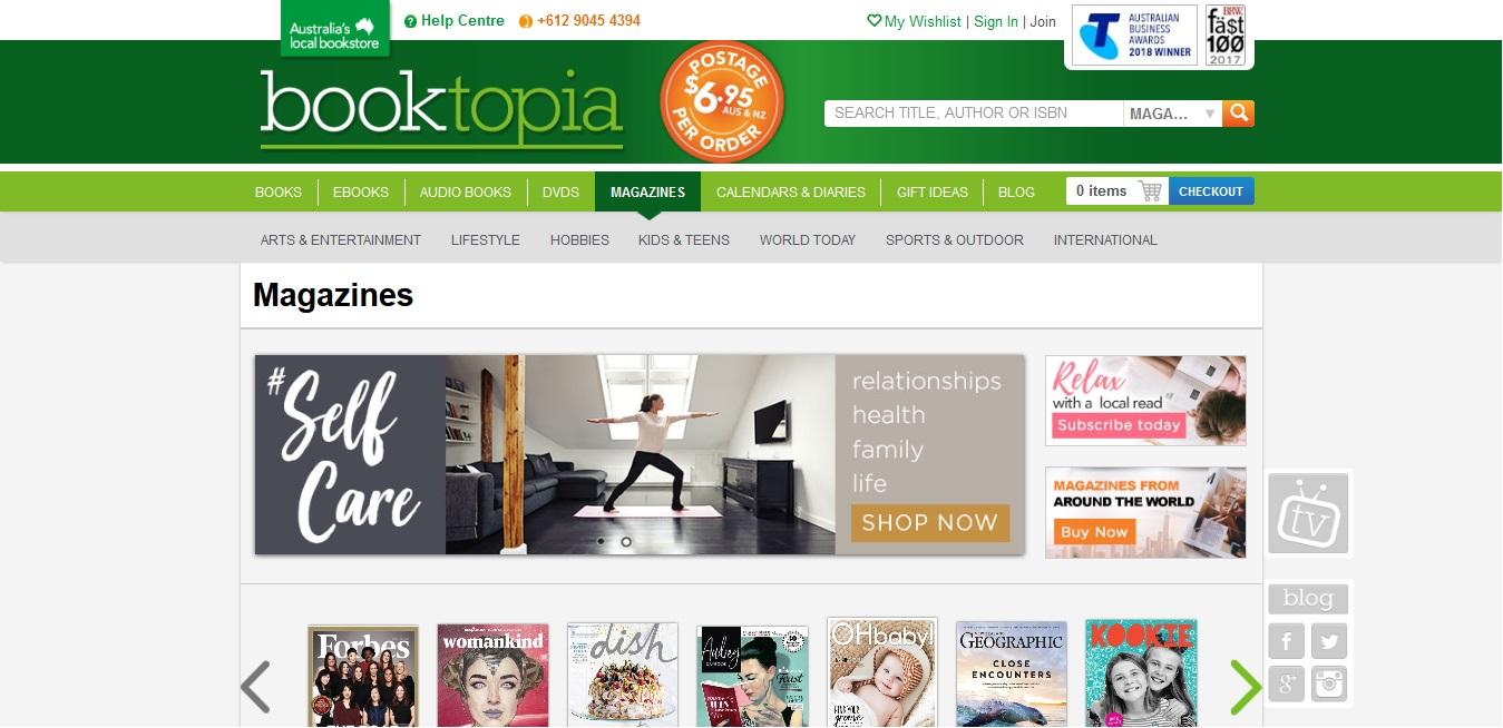Booktopia Magazine