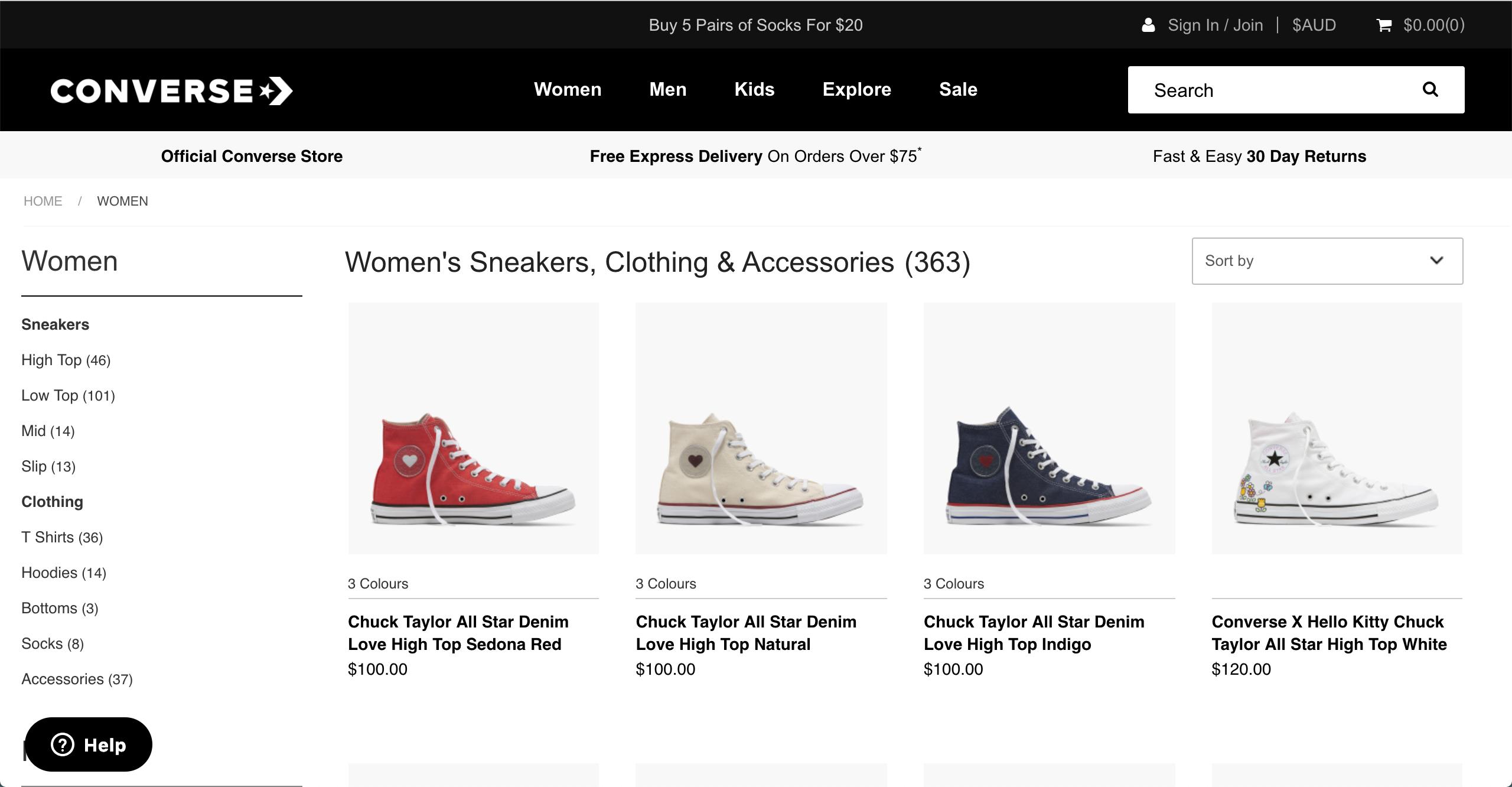 Converse women s sneakers