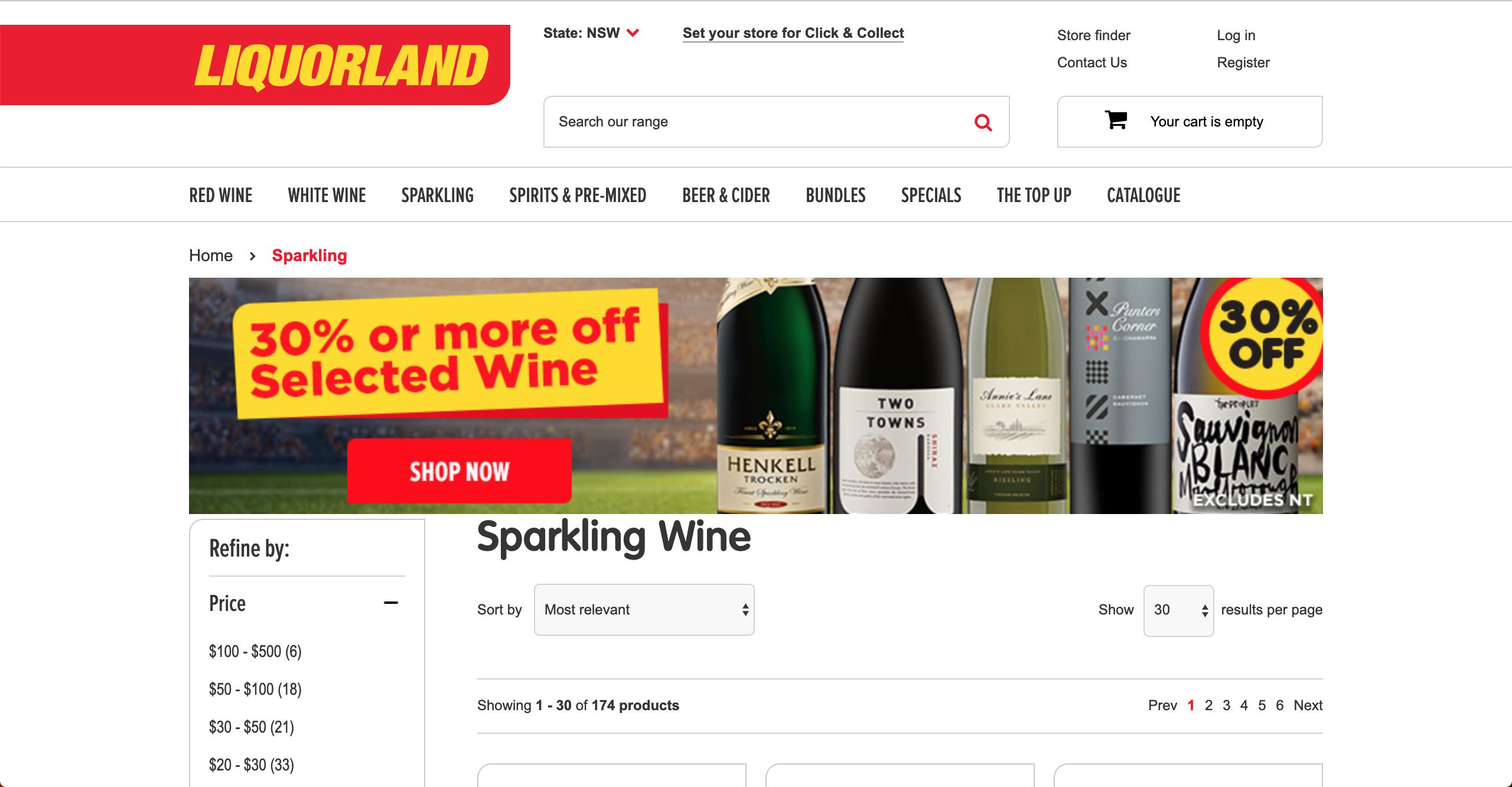 Liquorland Sparkling Wine