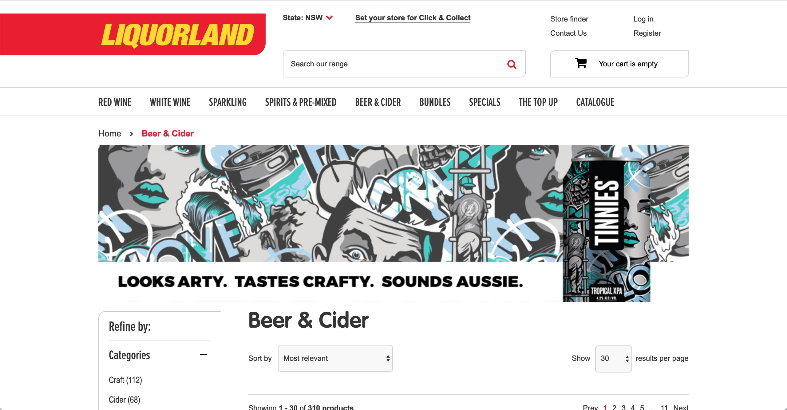 Liquorland Beer & Cider