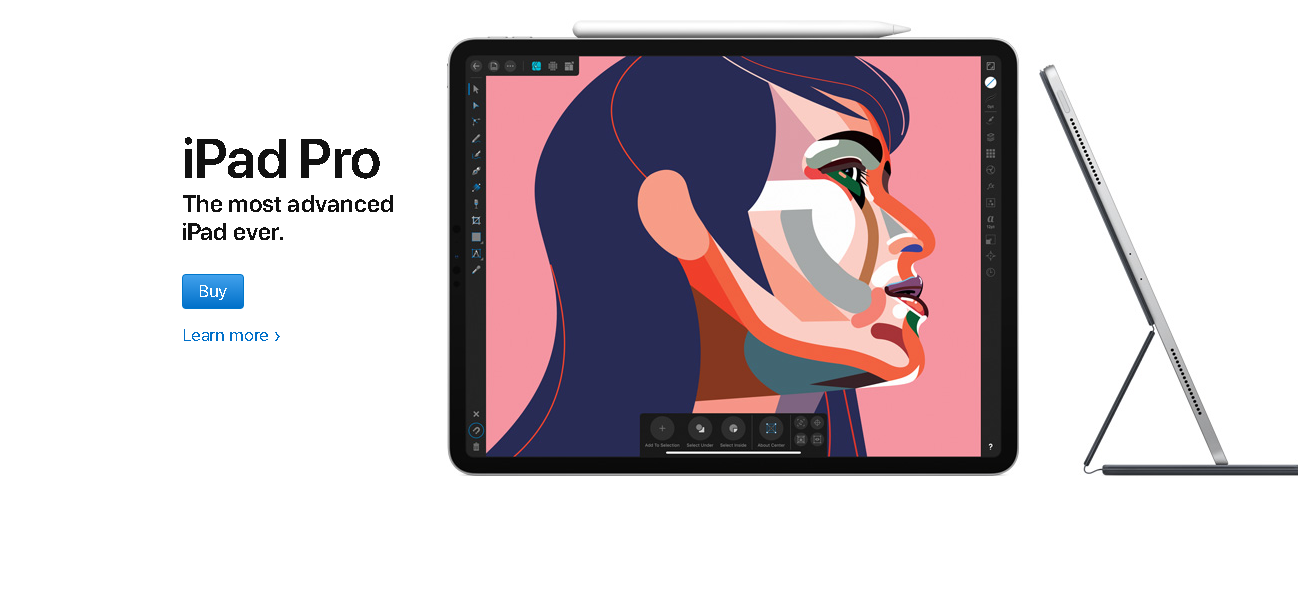 Apple Store For Education iPad Page