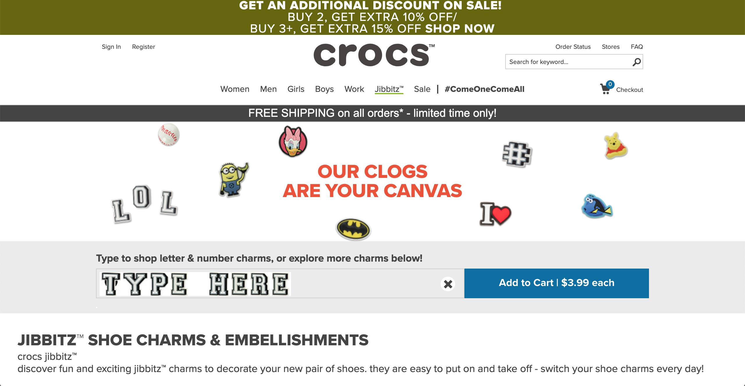 Crocs Jibbitz