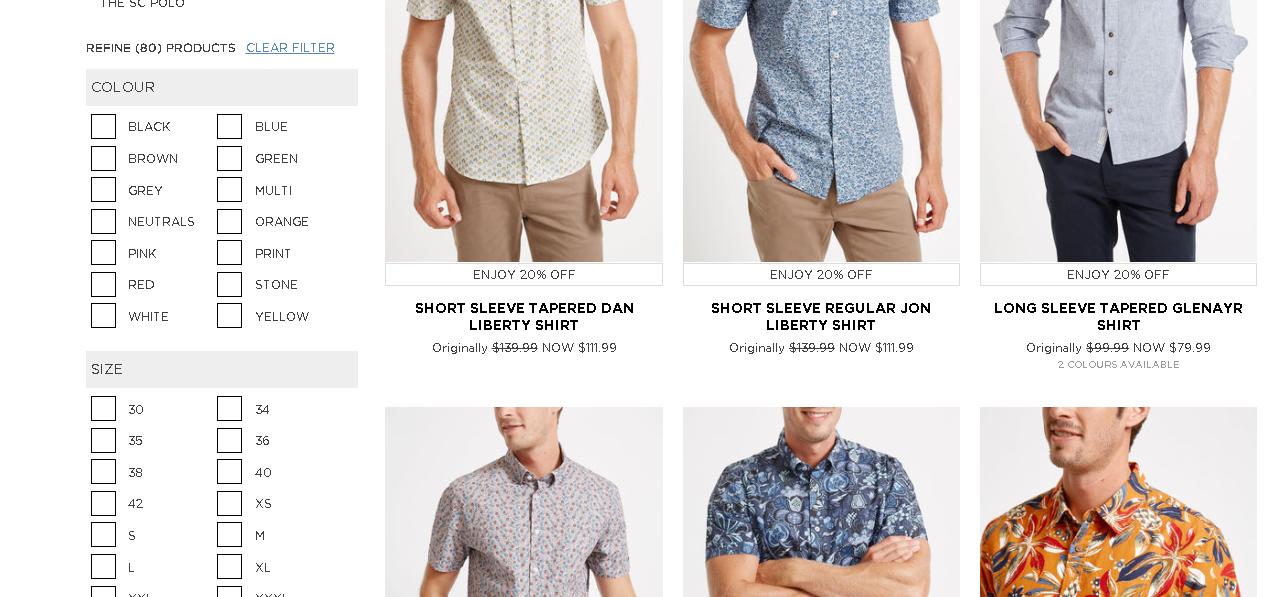 Sportscraft men s shirts page