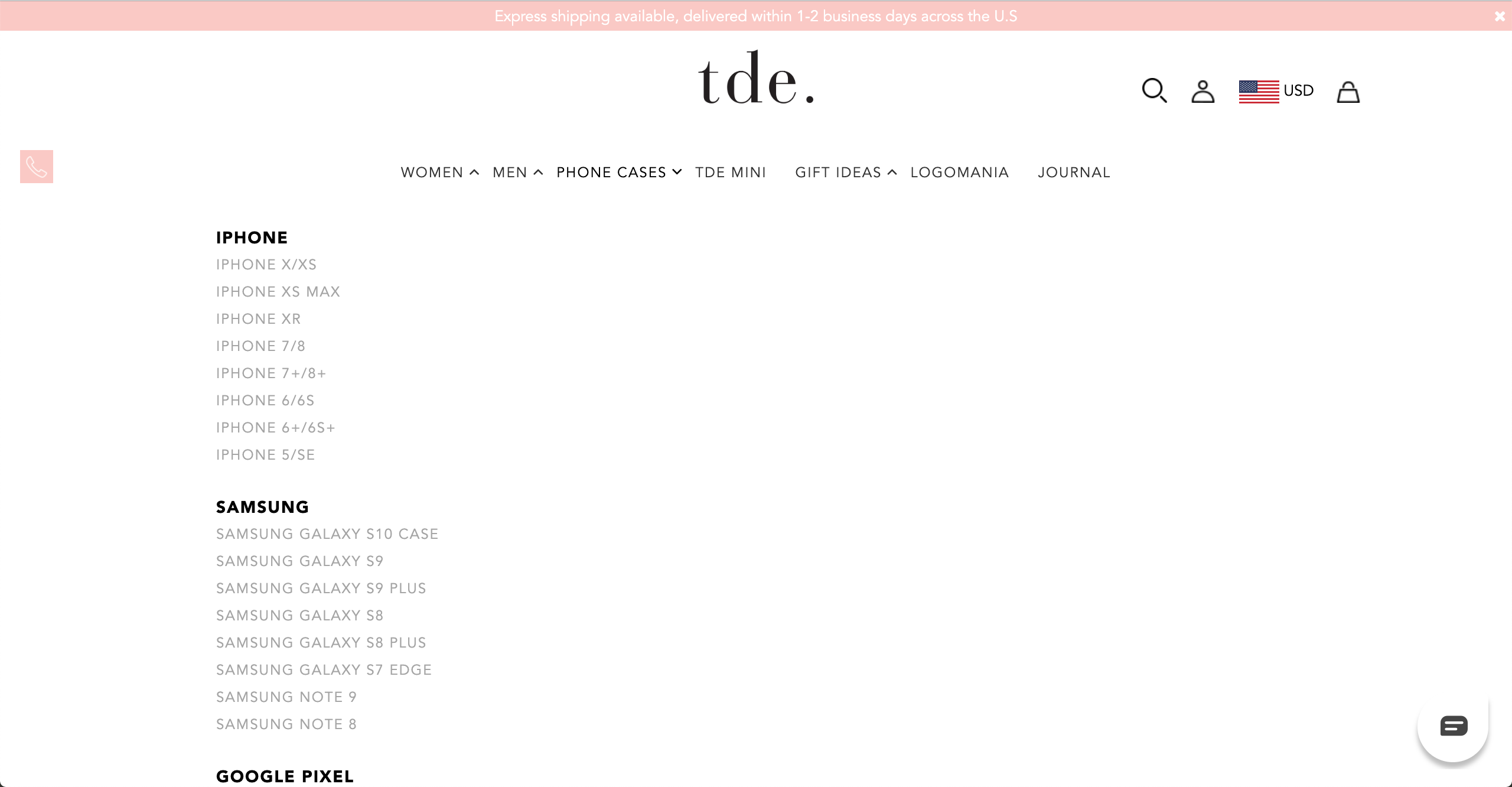 TDE accessories