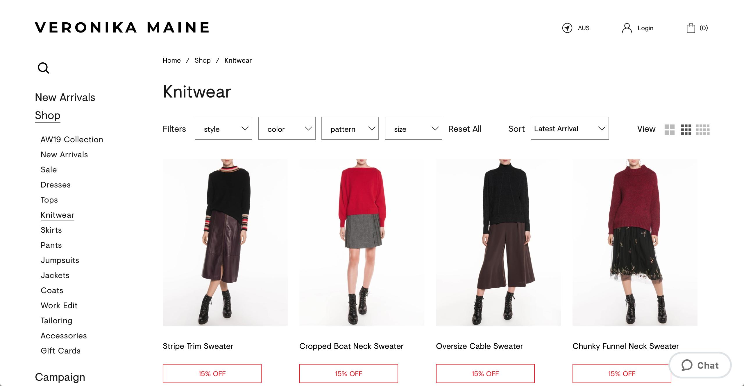 Veronika Maine knitwear