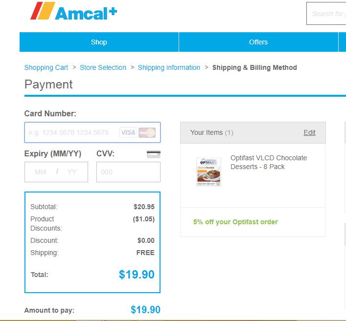 Amcal Payment
