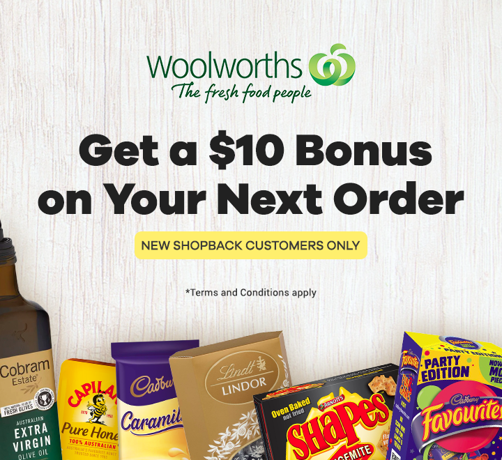 Woolworths New Customer Offer
