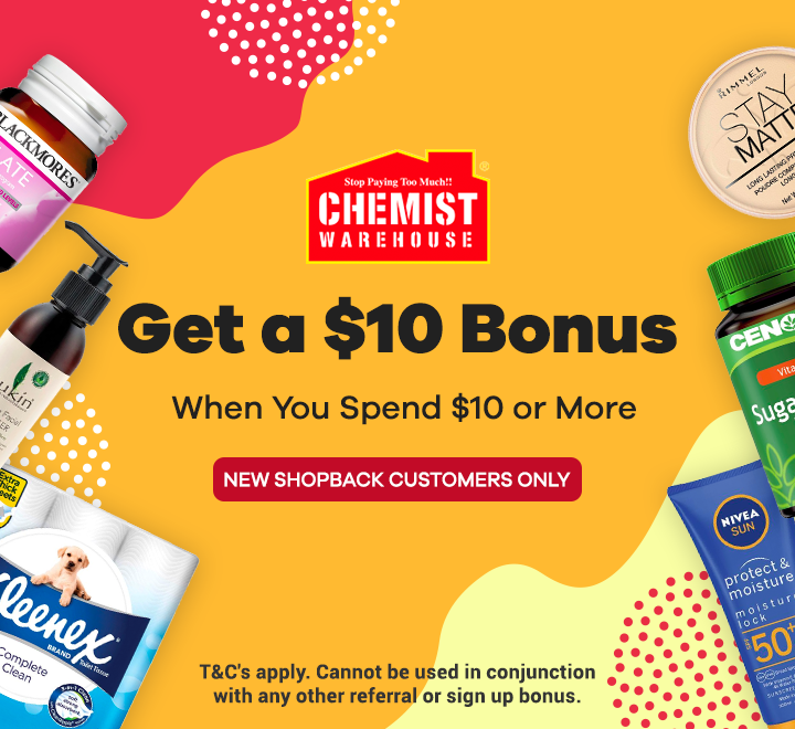 Chemist Warehouse Sign Up