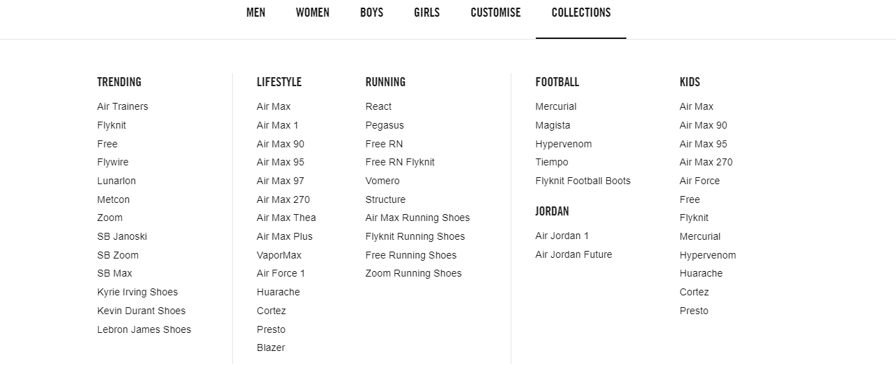 How to shop at Nike online