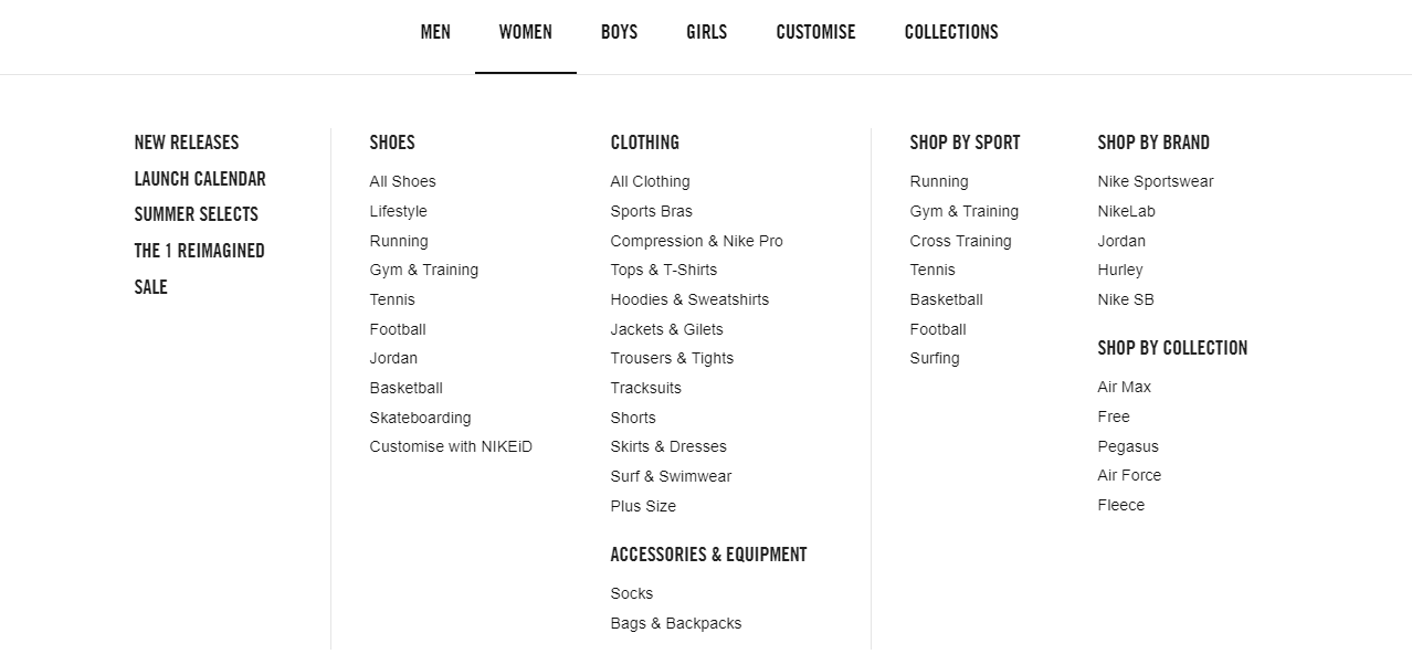 How to shop at Nike
