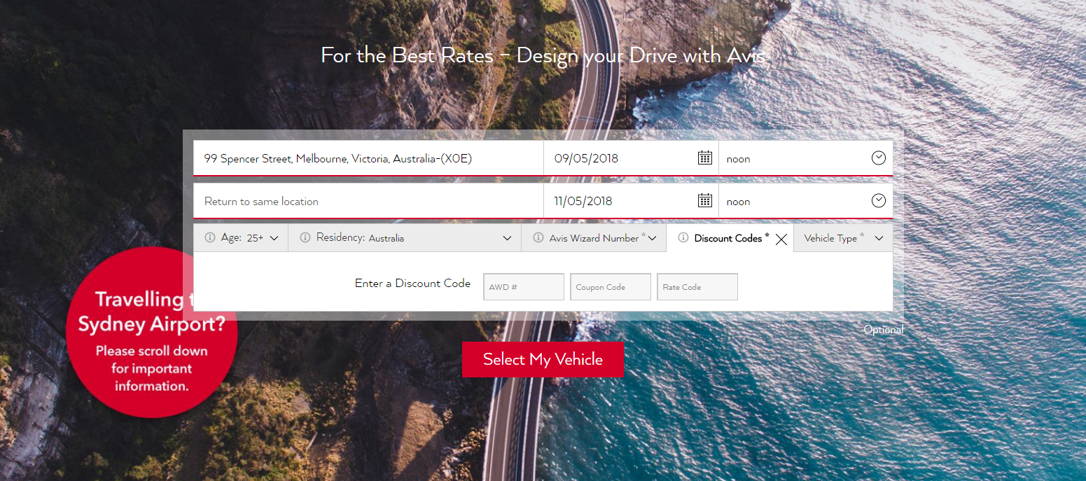 How to Rent a Car with Avis Discount Codes