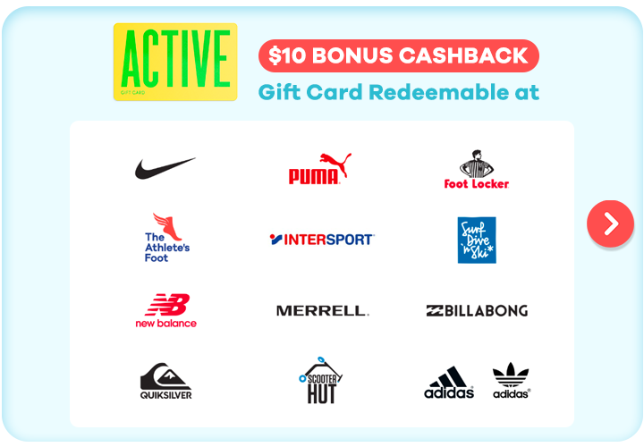 Gift Card for Active