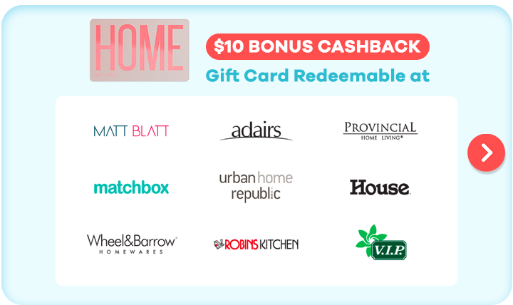 Gift Card for Home