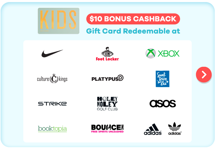 Gift Card for Kids